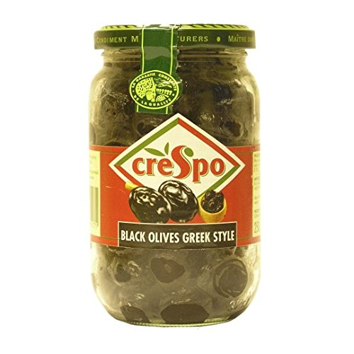 Crespo - Black Olives Greek Style - 250g
