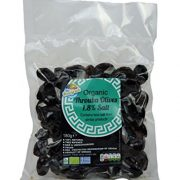 The Raw Greek Organic Lightly Salted Throuba Olives 360g