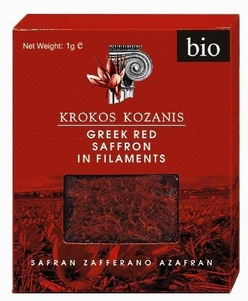 Krokos Kozanis Organic Greek Red Saffron 1g