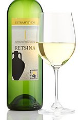 RETSINA TETRAMYTHOS - GREEK ORGANIC WHITE WINE