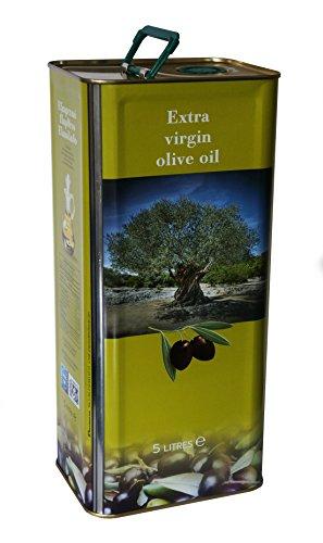 The Raw Greek Extra Virgin Olive Oil from Koroneiki Olives (Agourelaio) - 5litre