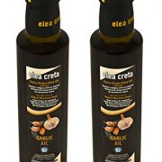 Elea Creta Extra Virgin Aromatic Greek Olive Oil with Garlic 500ml Glass Bottle
