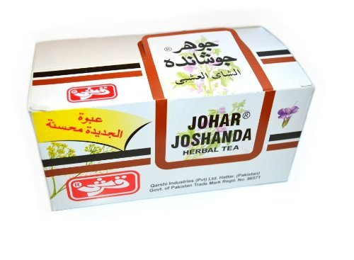 Qarshi Johar Jashanda Herbal Tea - Pack of 30 Sachets