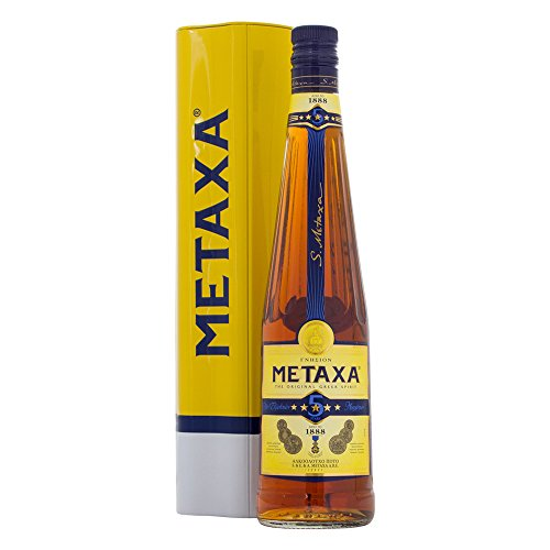 Metaxa 5 Stars 70cl in Limited Edition Tin
