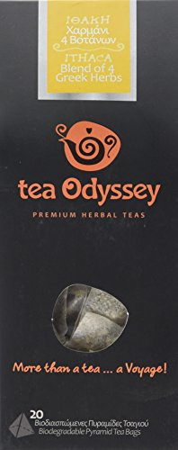Tea Odyssey Ithaca Blend Herbal Tea (20 Teabags)
