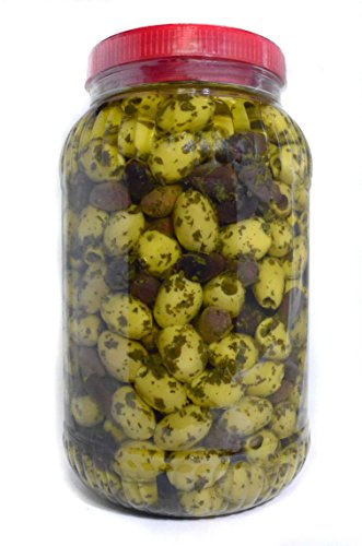 deli med - Marinated Greek Pitted Olives - PROVENCAL - 2.9 Kg