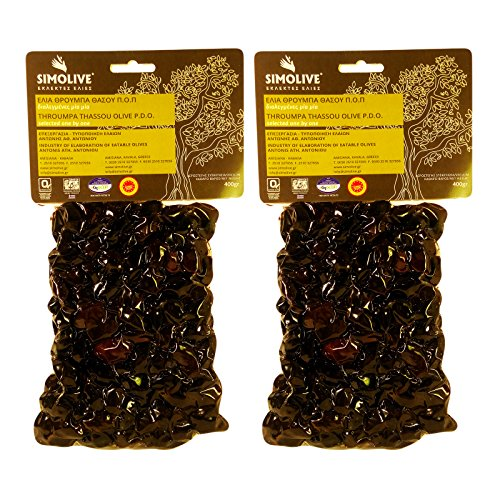Simolive Greek Throuba Olives from Thassos Vacuum-sealed