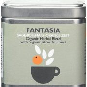 Organic Islands Fantasia Greek Organic Herbal Tea Cube- Natural Remedy- Sage-Rosemary-Orange Zest 28.35 g