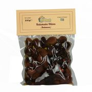 The Raw Greek, Black Kalamata Olives, from Sparta Greece - 500g