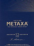 Metaxa The Original Greek Spirit 12 Stars, 70 cl