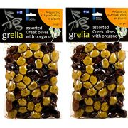 Greek Assorted Olives with Oregano from Crete 500gr Vacuum