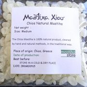 Chios Mastiha Tears Gum Greek 100% Natural Mastic Packs From Mastic Growers (20gr Medium Tears)