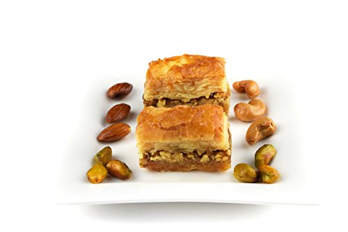 1 KG Baklawa Baklava Walnut Home Made Recipe Freshly Baked and Shipped UK
