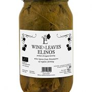 Elinos Greek Organic Vine Leaves Net Weight 950gr Glass jar