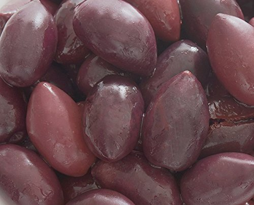 deli med - Greek Pitted KALAMATA Olives (Jumbo) in Brine - 2.9 Kg Tub