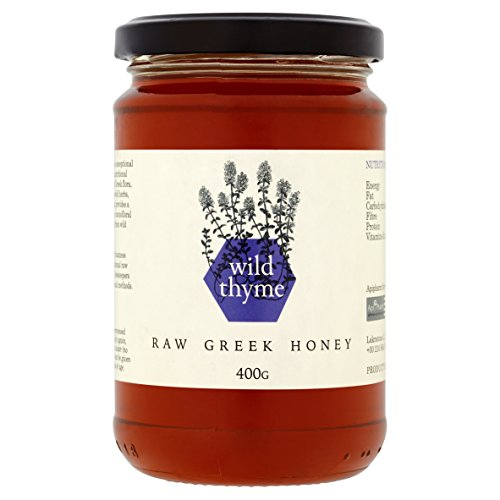 Raw Greek Honey from Wild Thyme, 400g