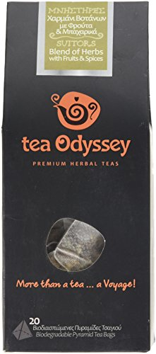 Tea Odyssey Suitors Blend Herbal Tea (20 Teabags)