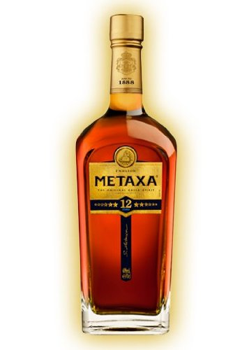 METAXA 12 Stars Greek Brandy 70cl Bottle