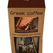 Nektar Greek Coffee Traditional Blend 250gr with a Boiling Pot '' BRIKI''