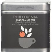 Organic Islands Philoxenia Greek Organic Herbal Tea Cube - Natural Remedy-Sage-Orange Zest 28.35 g