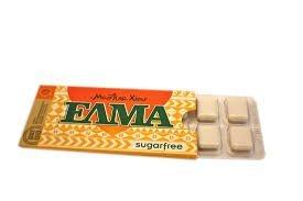 Natural Greek Chios Mastic Mastiha Gum Elma Sugarfree 10 Packs