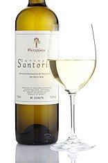 Hatzidakis Santorini 2015 - Medium Dry white wine