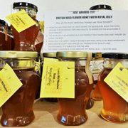 Greek Raw Wild Mountain Honey from Crete with Royal Jelly - 130g Amphora jar