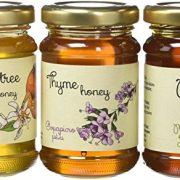 Melissokomiki Dodecanesse Thyme/Pine/Orange flowers Jars of Honey 390 g (Set of 3)