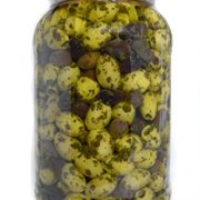 deli med - Marinated Greek Pitted Olives - PROVENCAL - 2.9 Kg
