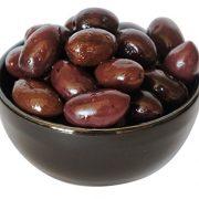 The Raw Greek, Black Kalamata Olives, from Sparta Greece - 500g