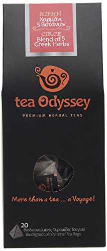 Tea Odyssey Circe Blend Herbal Tea(20 Teabags)