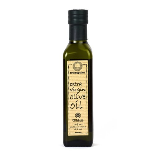 Extra Virgin Olive Oil Pure Natural Vegan Cold Pressed - Urbangrains Extra Virgin Olive Oil 250ml
