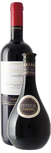 Prize-winning Greek Dry Red Wine - Genesis 2014 by Kechris- Merlot - Xinomavro 0.75cl bottle